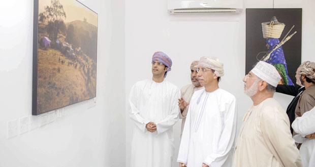 افتتاح المعرض الشخصي الأول للمصور أحمد الطوقي