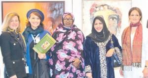 اختتام معرض الفنون التشكيلية والتصوير الضوئي والخط العربي في جنيف