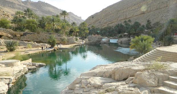 البرك المائية بوادي بني خالد وجهة سياحية على مدار العام