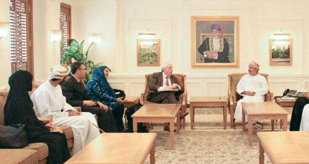 وزير القوى العاملة يلتقي بخبراء من المنظمة الدولية للملكية الفكرية
