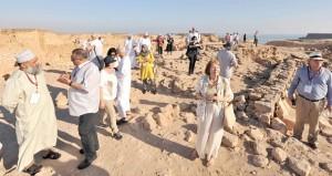 أكثر من 7 آلاف عدد زوار متنزهي البليد وسمهرم الأثريين فبراير الماضي