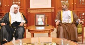 المعولي يستقبل رئيس مجلس الشورى السعودي