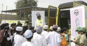 لجنة السلامة المرورية بولاية بدية تنفذ فعاليات وأنشطة مرورية متعددة
