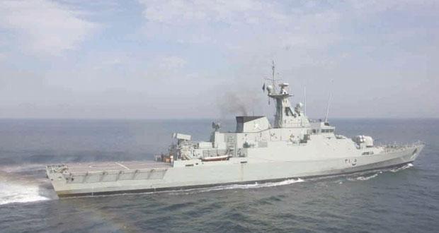 البحرية السلطانية العمانية تختتم مشاركتها في التمرين البحري المشترك ( اتحاد 17 )