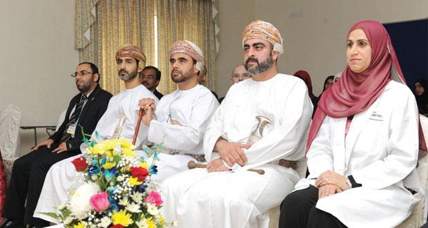 تيمور بن أسعد يرعى حفل تدشين خدمة العيادة المتنقلة للتوعية عن مرض السكري