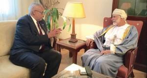 يوسف بن علوي يلتقى بوزيري خارجية موريتانيا والصومال