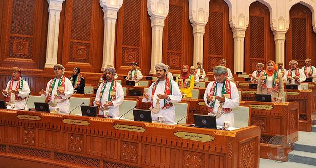 مجلس الدولة يناقش مشروع قانون تنظيم مزاولة مهنة الصيدلة واليوم يناقش القانون الموحد لمكافحة الإغراق وتطوير الصحافة العمانية