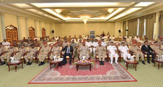 رئاسة أركان قوات السلطان المسلحة تختتم ندوة حول إدارة حوادث الأسلحة والمواد الكيميائية