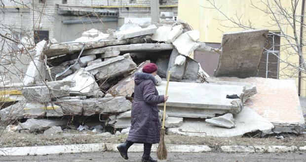 الغرب يهدد روسيا برد قوي حال انهيار الهدنة شرق أوكرانيا