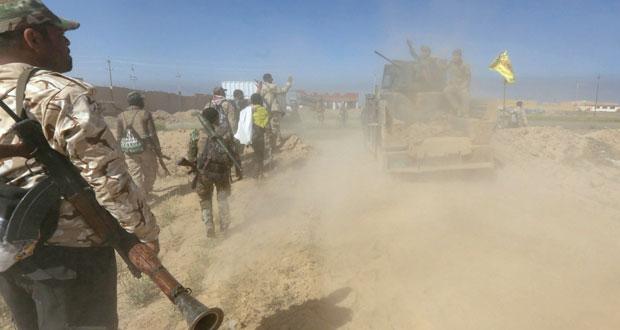 العراق: الجيش يدخل شمال تكريت ويتقدم نحو مركز المدينة