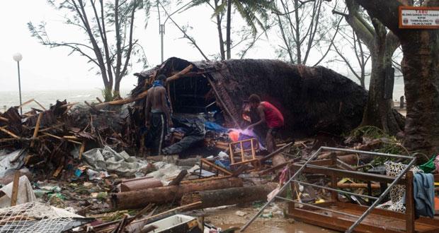 عشرات الوفيات حصيلة إعصار عنيف جنوب المحيط الهادئ