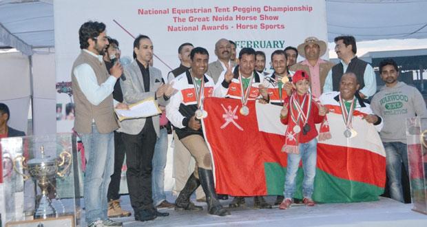 فرسان عمان يتوجون كأس آسيا برصيد 14 ميدالية ملونة دولية وآسيوية