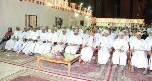 حمود بن فيصل يرعى احتفالية نادي عمان السنوية ويكرم رواده والمنتسبين
