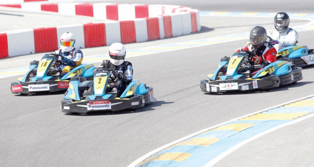 الفرق العمانية تعلن جاهزيتها لسباق تحدي 24 ساعة للكارتينج