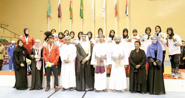 نجاحات مبهرة ونتائج رائعة حفلت بها الدورة الرابعة لرياضة المرأة الخليجية