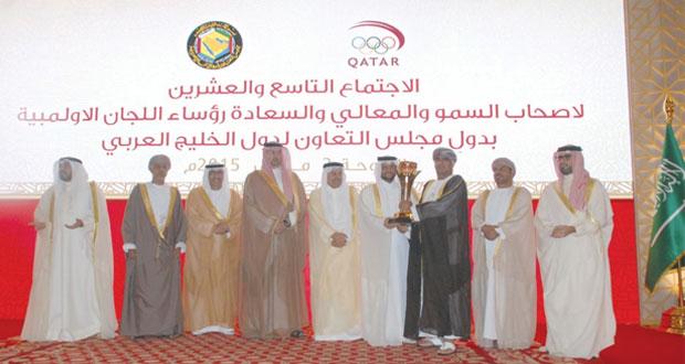 لجنة الرياضة والبيئة بالأولمبية العمانية تتوج بالجائزة الخليجية