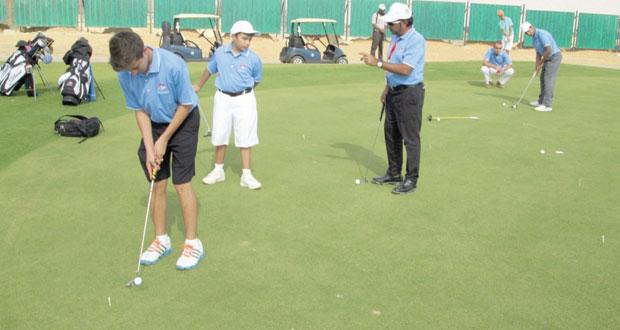 منتخب الجولف يؤكد جاهزيته للمشاركة في بطولة الخليج بدبي