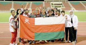 في فعاليات دورة رياضة المرأة الخليجية.. منتخبنا لألعاب القوى يضيف ميداليتين ذهبية وبرونزية للسلطنة