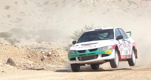 أبطال الراليات على موعد مع التحدي في الجولة الثانية لرالي عمان
