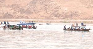 ختام ناجح لسباق القوارب التقليدية بصور2015