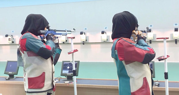 في فعاليات الدورة الرابعة لرياضة المرأة الخليجية