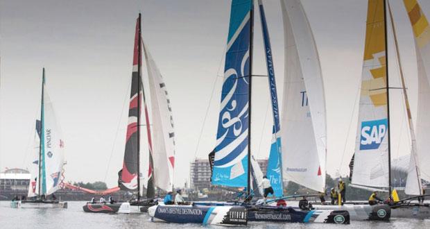 انطلاق منافسات الجولة الثانية لسلسلة سباقات قوارب الإكستريم