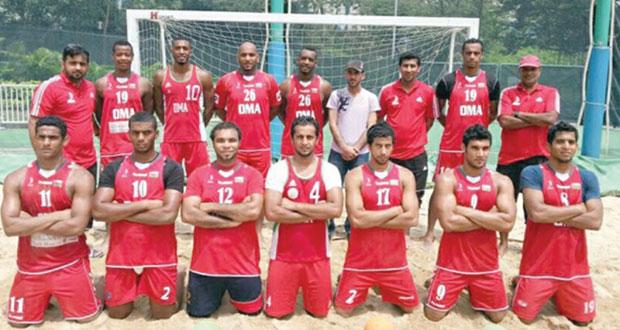اتحاد اليد يدشن شعار البطولة الاسيوية لكرة اليد الشاطئية