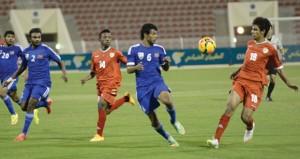 في التصفيات الآسيوية الأولمبية بمسقط..منتخبنا الأولمبي يكسب المالديف بخماسية نظيفة ويصل إلى النقطة السابعة