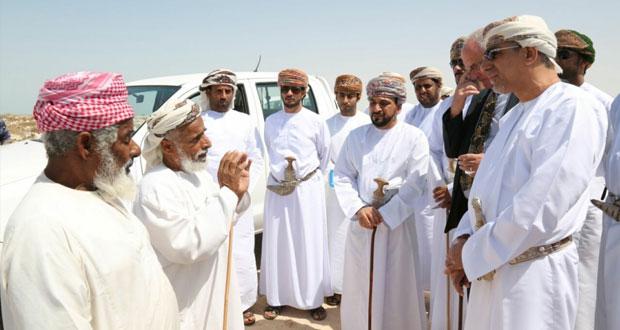 الساجواني يزور ولاية محوت ويلتقي بالصيادين واﻷهالي