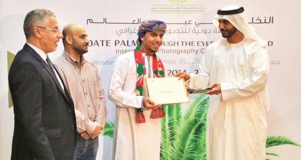 """أنس باعمر يفوز بالمركز الثالث في مسابقة التصوير الفوتوغرافي """"النخلة في عيون العالم"""""""