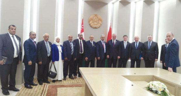 بحث التعاون بين لجنـة الصداقـة البرلمانية بمجلس الدولة ومجلس الجمعية الوطنية لجمهورية بيلاروسيا