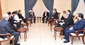 سوريا: الأسد يلتقي وفدا تركيا وبعثة الأمم المتحدة تجتمع بمحافظ حلب