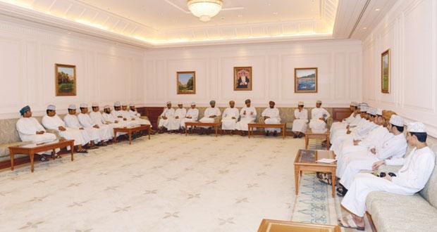 مجلس الدولة يستقبل طلاب مدرستي الحسن بن هاشم وجابر بن زيد