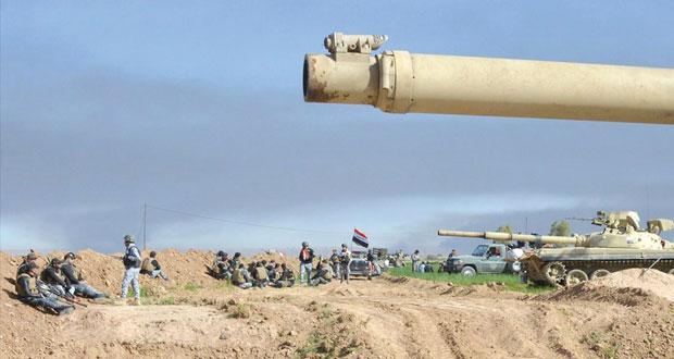 العراق: الجيش يحرر (الكناطر) بالفلوجة ويواصل العمليات بتكريت
