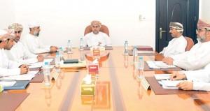 اجتماع اللجنة العليا لانتخابات أعضاء مجلس الشورى للفترة الثامنة
