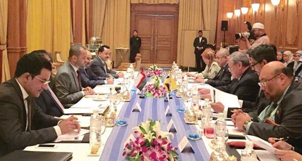 جلسة مشاورات سياسية بين السلطنة وبروناي دار السلام