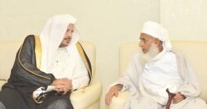 مفتي عام السلطنة يلتقي رئيس مجلس الشورى السعودي