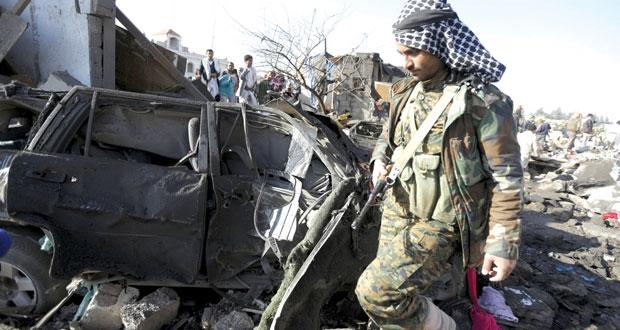 """اليمن : السعودية تطلق """"عاصفة الحزم"""" ضد الحوثيين وأحاديث عن مقتل قيادات"""