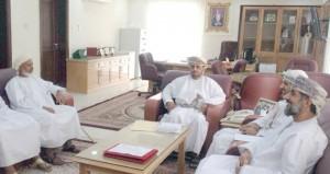مناقشة الجوانب المتعلقة بالمحافظة على جامع الشيخ أبي سعيد الكدمي بالحمراء