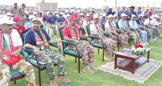 وزارة الدفاع وقوات السلطان المسلحة تنظمان الاحتفال المركزي الخامس للأشخاص ذوي الإعاقة