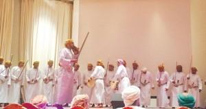 أمسية للفنون الشعبية في جامعة السلطان قابوس