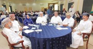 الكلباني يفتتح مؤتمر المسؤولية الإجتماعية بمشاركة واسعة للمختلف القطاعات