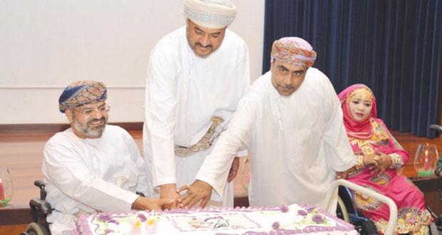 الجمعية العمانية للمعوقين تحتفل بمرور عشرون عاما على تأسيسها
