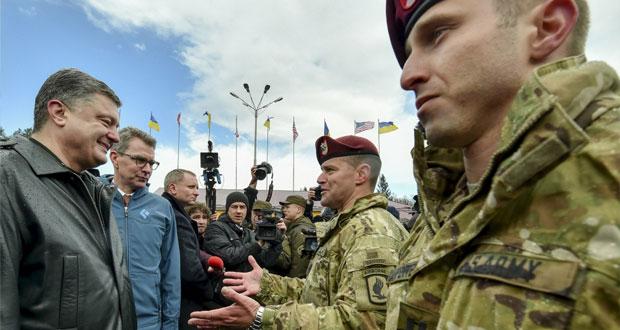 300 مظلي أميركي يبدأون مهمة تدريب الجنود الأوكرانيين
