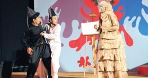 """بدء فعاليات مهرجان المسرح المدرسي في دورته السادسة على مسرح """"التربية والتعليم"""" بالوطية"""