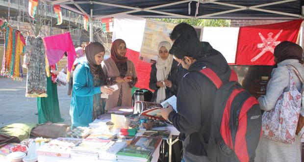 جمعية الطلبة العمانيين بنيوكاسل تشارك في معرض القرية العالمية