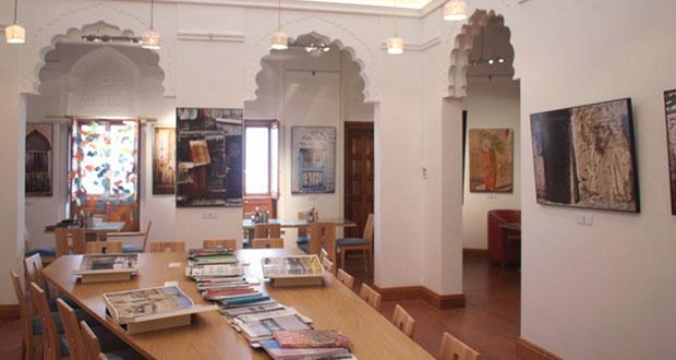 """داليا البسامية تعرض أعمالها الفنية ضمن معرض """"ذاكرة"""" في بيت الزبير"""