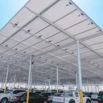 افتتاح مشروع النهضة للطاقة الشمسية الرئيسي في المساكن الدائمة للمقاولين (باك) بفهود