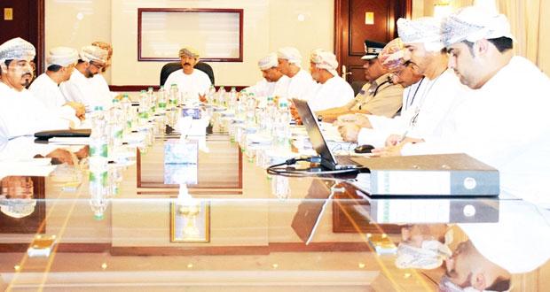 اللجنة الوطنية لمكافحة غسل الأموال وتمويل الإرهاب تبحث استضافة الإجتماع الـ21 لمجموعة (المينافاتف)