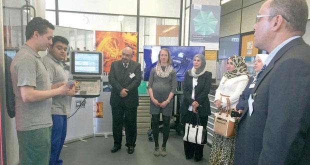 القوى العاملة تشارك بالملتقى العربي الألماني السادس للتعليم والتدريب المهني